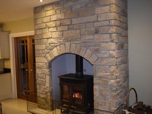 Gormley-Construction-Plant-Hire-Sligo-Stove-fire-place-Stone-Finish
