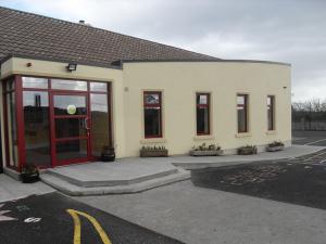 Gormley-Construction-Plant-Hire-Sligo-Ireland-National-School-Achonry-Paving-Entrance